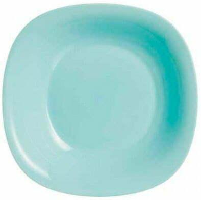 Тарелка суповая Luminarc Carine Light Turquoise 21 см P4251 купить недорого онлайн
