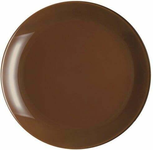 Тарелка Luminarc десертная Arty Cacao круглая 205 мм P6151 купить недорого онлайн