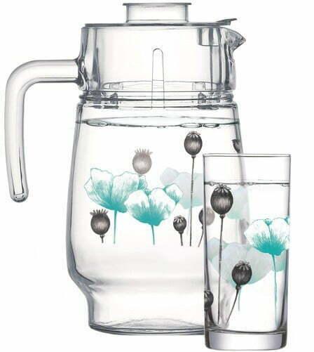 Набор для напитков Luminarc Amsterdam Turquoise с 7 предметов P6286 купить недорого онлайн