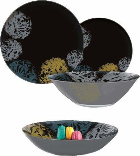 Сервиз столовый Luminarc Washedout Blue 19 предметов Q1066 купить недорого онлайн