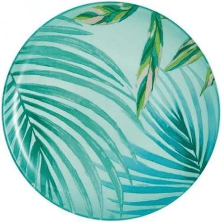 Тарелка стеклянная 20,5 см десертная Luminarc Crazifolia P3224 купить недорого онлайн