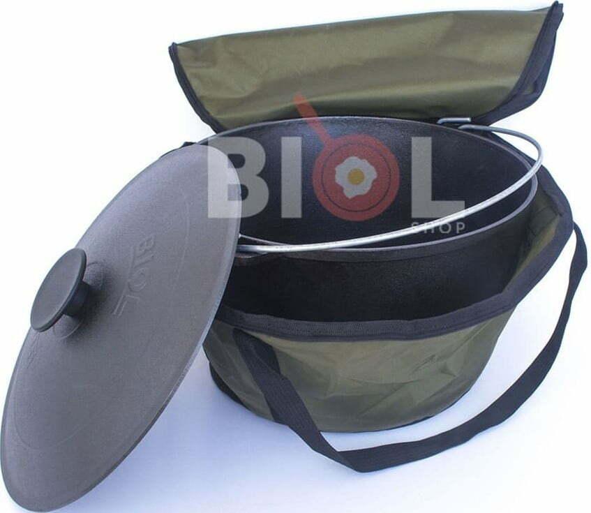 Комплект казан туристический 6 л с чехлом 0706+ЧК06 купить в интернет магазине