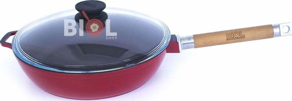 Сковорода Биол чугунная снаружи с эмалированным покрытием 24 см 03243ЕС купить в онлайн магазине