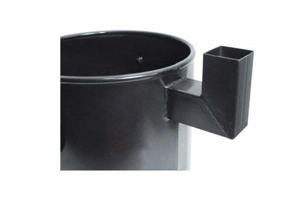 Печь для казана с дымоходом Силумин 30 см купить недорого