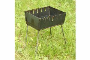 Мангал-чемодан Shop pan разборной на 6 шампуров МЧ06