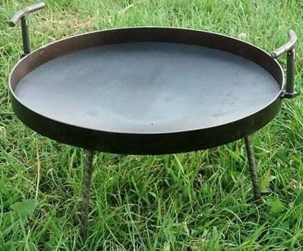 Сковорода из диска стальная 30 см купить недорого онлайн