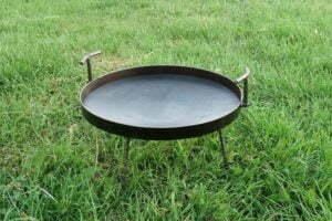Сковорода из диска стальная 40 см для костра купить