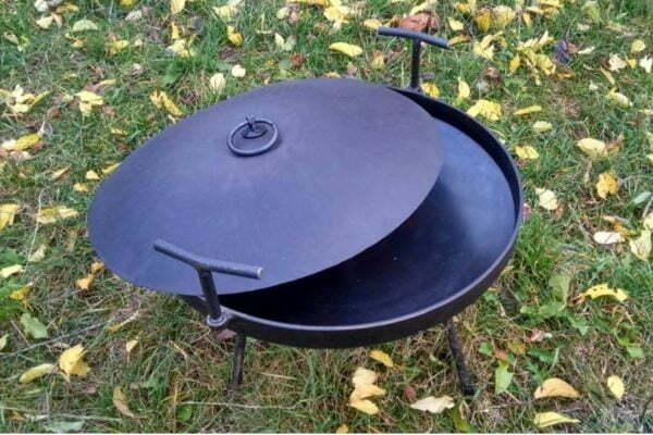 Сковорода из диска с отверстием 400 мм купить дешево