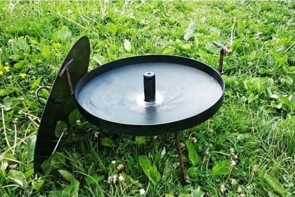 Сковорода для костра с отверстием Shop pan 40 см заказать дешево