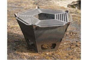 Чаша для огня разборная Shop pan 74 см заказать в интернет-магазине