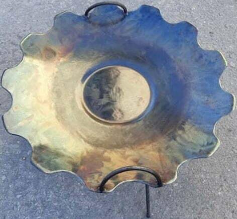 Сковорода без бортов из диска 55 см Ромашка Shop Pan купить