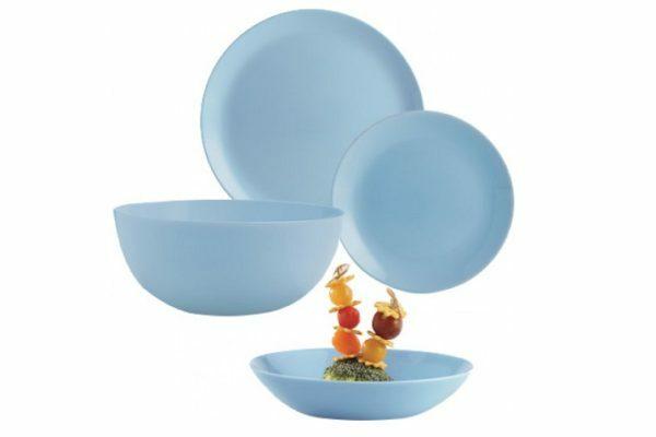 Сервиз столовый Diwali Light Blue из 19 предметов Luminarc купить