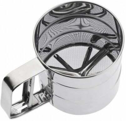 Чашка-сито для муки Vincent 15,5x10,5x9,5 см VC-1210 купить недорого онлайн