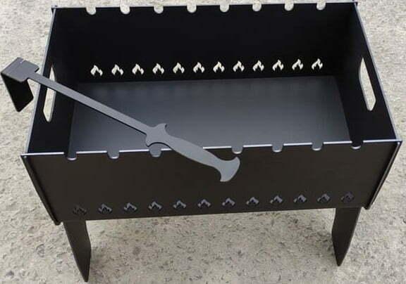 Мангал Shop pan крашенный разборной на 6 шампуров МК06 купить в Киеве