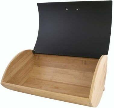Бамбуковая хлебница с крышкой Vincent 35x25x15,5 см VC-1234 низкая цена