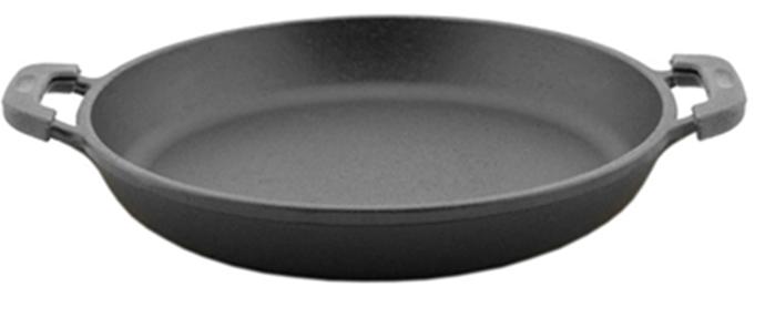 Порционная Биол сковорода 14 см из чугуна 2014