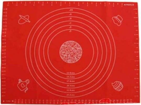 Силиконовый коврик поварской Vincent 40х30 см VC-1409 купить недорого онлайн