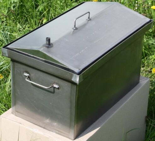 Коптильня Shop pan для горячего копчения 450х250х250 мм КГК1 купить недорого онлайн