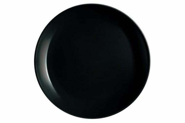 Тарелка десертная Luminarc Diwali Black 19см P0789 доставка по Украине в интернет магазине