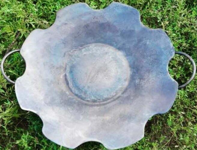 Сковорода без бортов из диска 55 см отзывы и фото