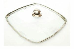 Квадратная крышка 24 см стеклянная Benson BN-996 заказать