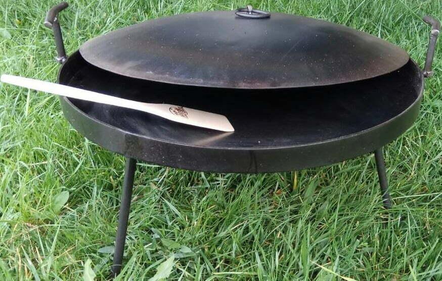 Сковорода с крышкой из диска бороны 30 см отзывы и описание