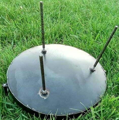 Сковорода из диска стальная 30 см Shop pan СК01 купить в Киеве