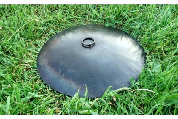 Сковорода с крышкой из диска бороны Shop pan 30 см заказать онлайн