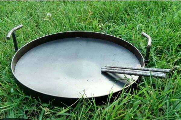 Сковорода из диска стальная 30 см Shop pan купить