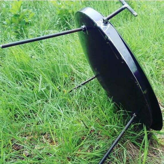 Сковорода из диска стальная 30 см Shop pan СК01 купить в Харькове