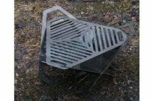 Чаша 50 см для огня Shop pan складная купить дешево