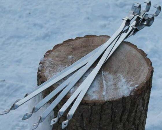 Шампур для тандыра Shop pan 400х11х2 мм Ш05 купить в Киеве