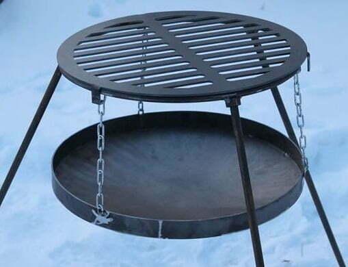 Решетка-гриль стальная круглая Shop pan БР02 купить в Харькове