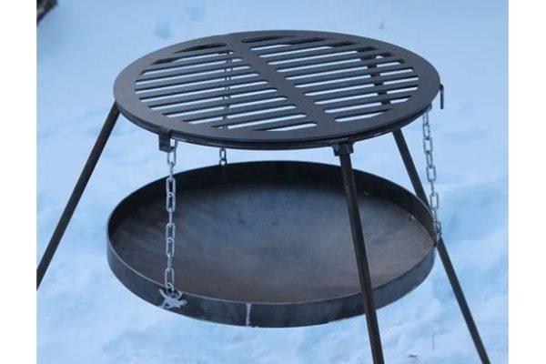 Решетка-гриль стальная круглая Shop pan низкая цена