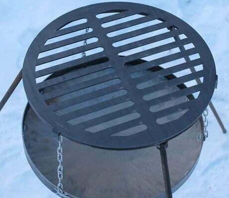 Решетка-гриль стальная круглая Shop pan
