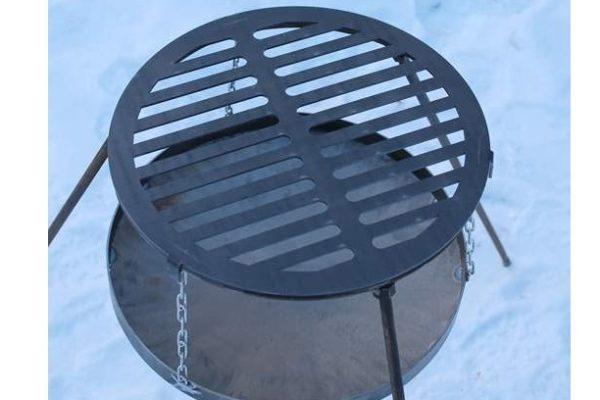 Решетка-гриль стальная круглая Shop pan БР02 купить в Киеве