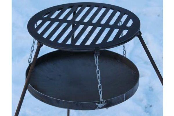 Решетка-гриль стальная круглая Shop pan БР02 низкая цена на сайте