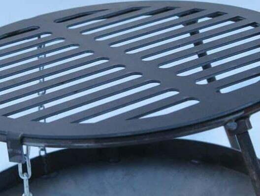 Решетка-гриль стальная круглая Shop pan БР02 лучшая цена в Украине
