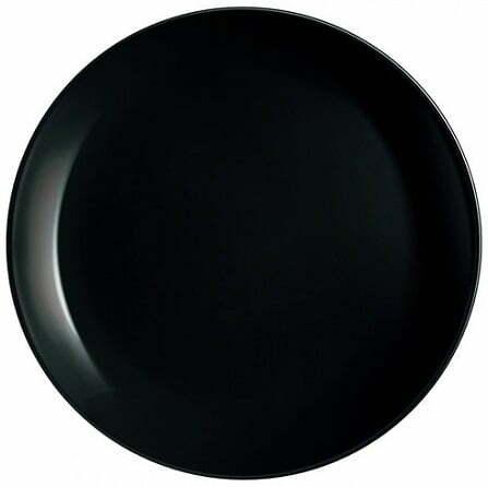 Тарелка десертная Luminarc Diwali Black 19см P0789 купить онлайн