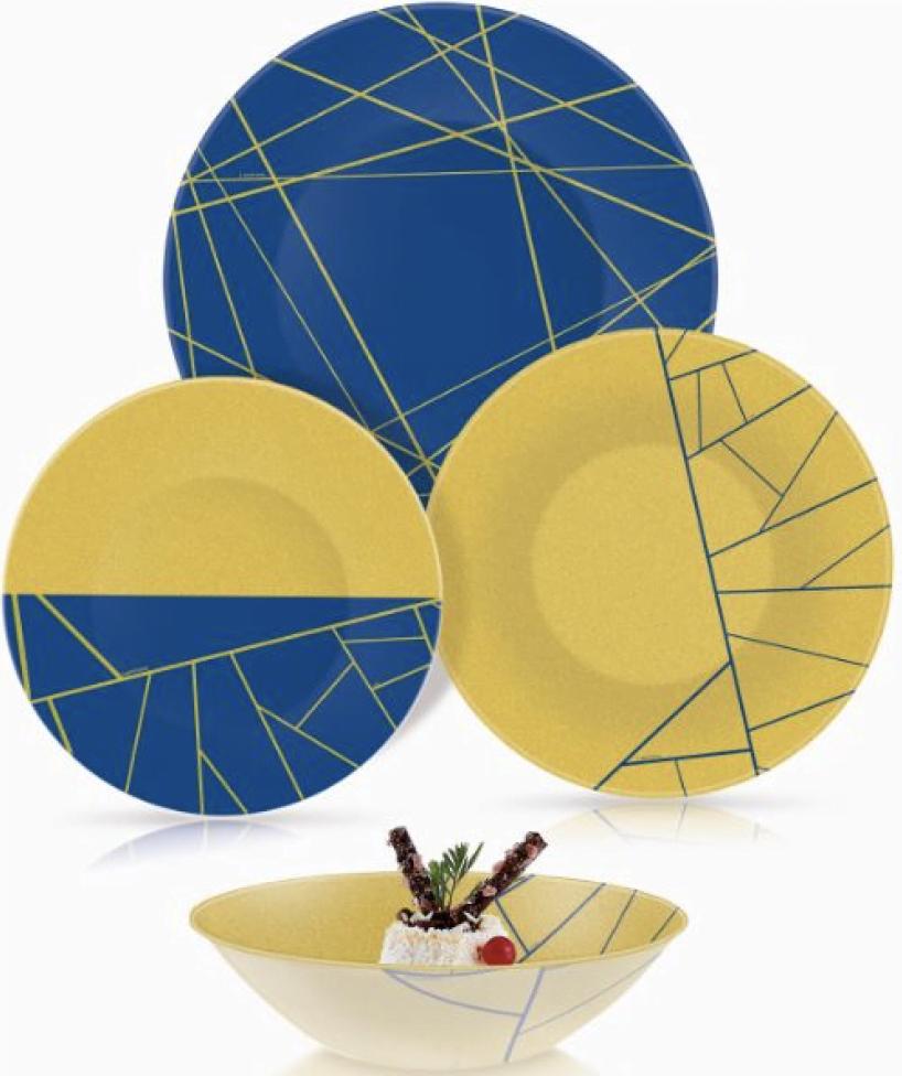 Сервиз Luminarc столовый из 24 предметов Delnice Blue Q4931 купить недорого онлайн