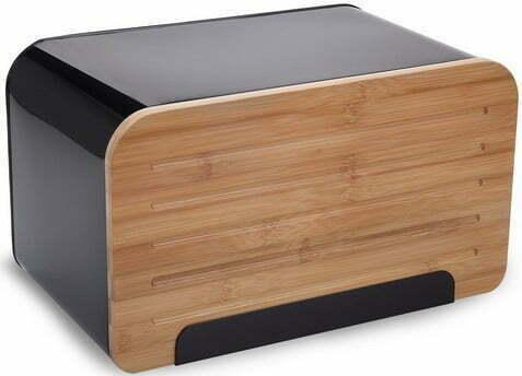 Хлебница из бамбука и металла 35x20,4x21,5 см Vincent VC-1232 купить недорого онлайн
