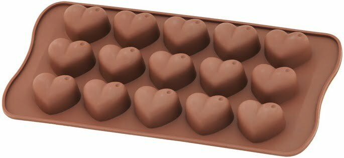 Силиконовая форма для шоколада Vincent сердце 20,5х10 см VC-1406 купить недорого онлайн