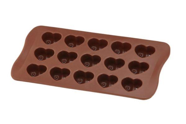 Силиконовая форма для шоколада Vincent сердце 20,5х10 см
