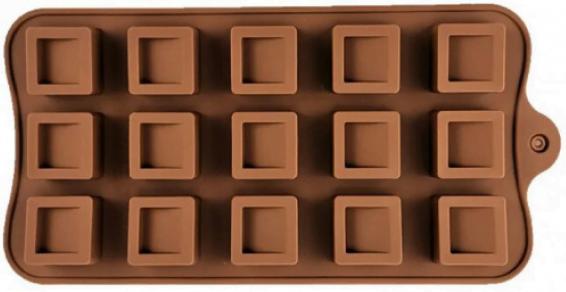 Силиконовая Vincent форма для шоколада 20,5х10 см VC-1407 купить недорого онлайн