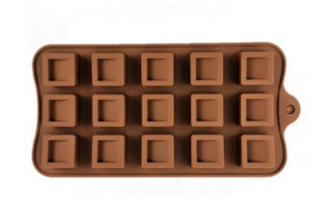 Силиконовая Vincent форма для шоколада 20,5х10 см VC-1407