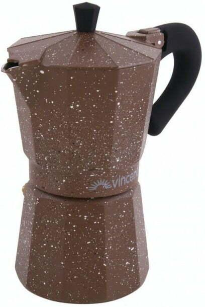 Кофеварка гейзерная на 3 чашки Vincent VC-1370-300 купить недорого онлайн
