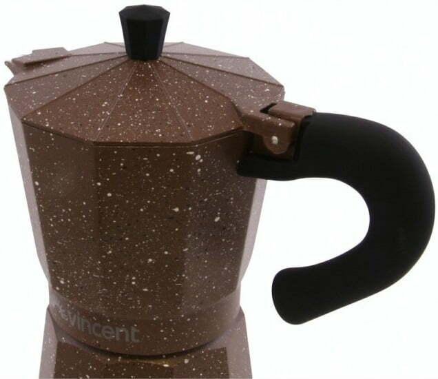 Кофеварка гейзерная на 3 чашки Vincent VC-1370-300 фото