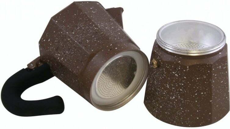 Кофеварка гейзерная на 3 чашки Vincent VC-1370-300 лучшая цена в Украине