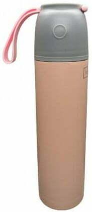 Термос крышка с кнопкой Lessner Salmon Pink 0,45 л 16643-045SP купить в Киеве