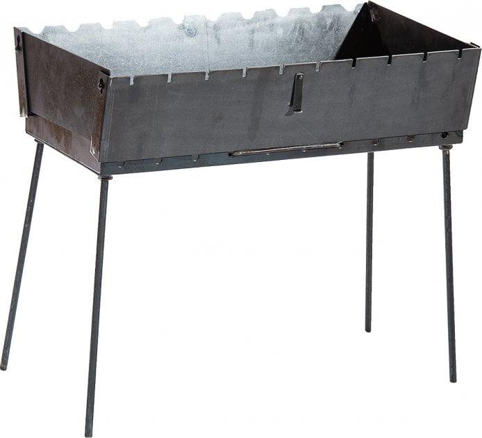 Мангал чемодан из стали Металл-завод MЧ2-10 купить недорого онлайн